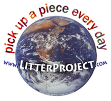 Litter Project: pick up a piece every day