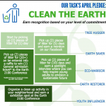 April is Clean the Earth Month